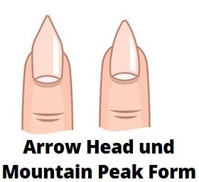 Arrowhead und Mountainpeak Gelnägel